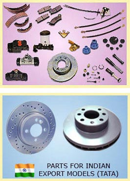 Picture of BRAKE and PARKING PARTS