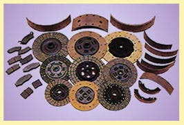 BRAKE SHOES,DISC PADS,CLUTCH FACINGS AND FRICTION MATERIALS