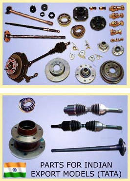 Picture of C.V.JOINTS, AXLES, HUBS and DRUMS