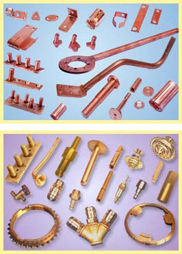 Picture of COPPER and BRASS COMPONENTS and ASSEMBLIES