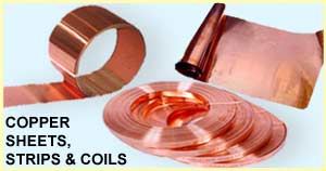 Copper Sheets, Strips & Coils