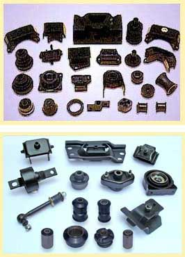 Picture of RUBBER EXTRUSIONS,MOULDED PARTS/RUBBER METAL BONDED ITEMS
