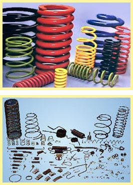 Picture of SPRINGS (COIL SPRINGS,HEAVY DUTY SPRINGS,WIRE FORMS)