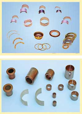 Picture of THRUST WASHER/ANTI-FRICTION BEARINGS (ALLOY. BIMETAL)